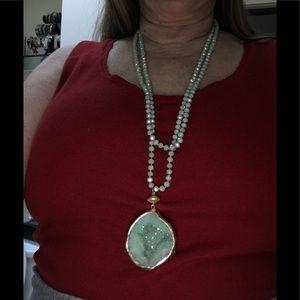 Jewelry - Geo Beaded Necklace